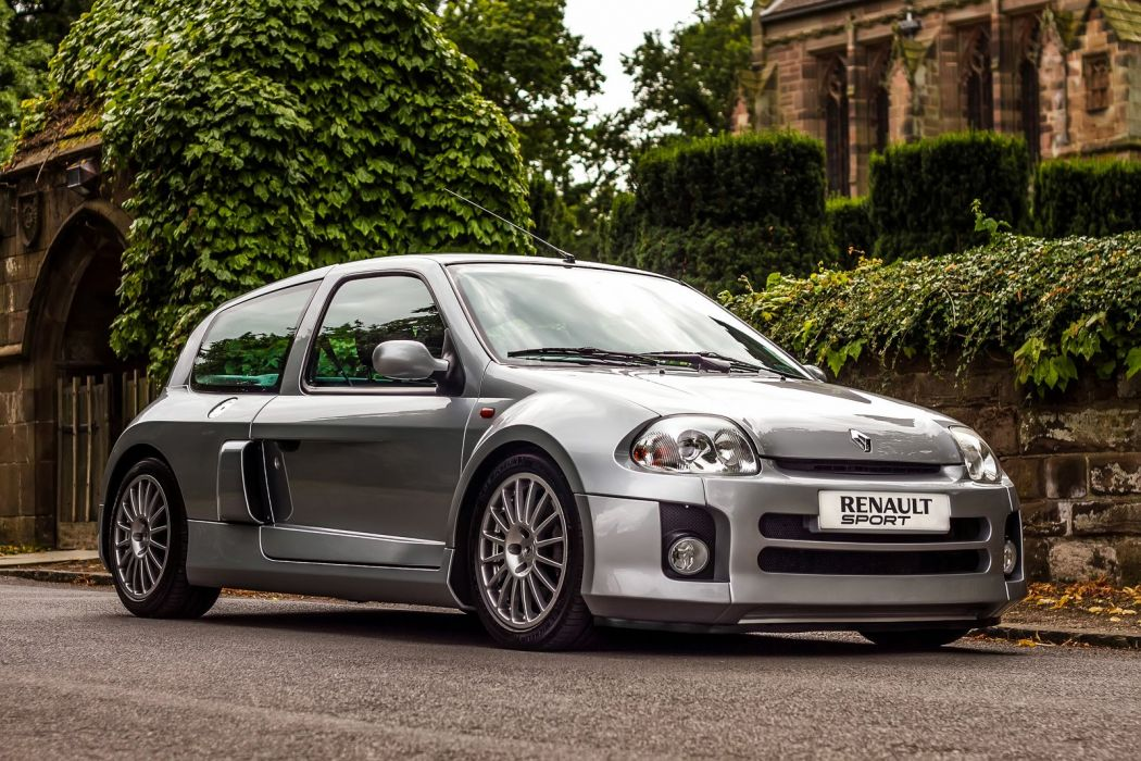 Renault Clio V6 cars french wallpaper