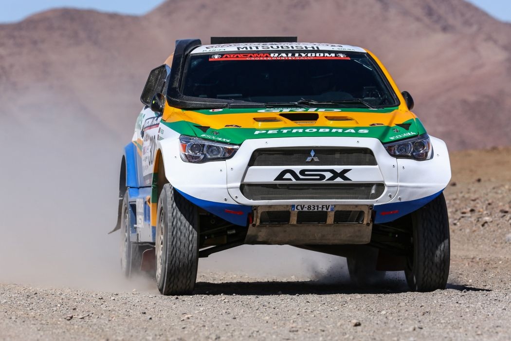 2014 Mitsubishi ASX Racing dakar race offroad wallpaper