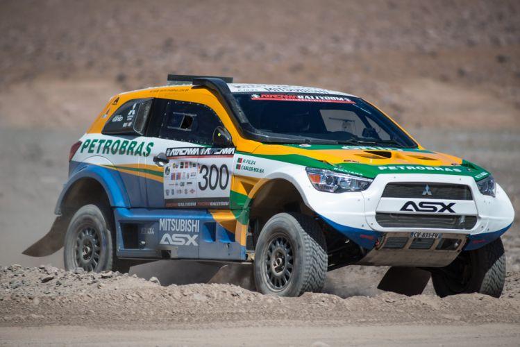 2014 Mitsubishi ASX Racing dakar race offroad wallpaper