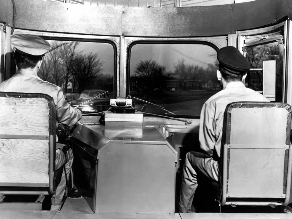 1950 Fageol T-C CargoLiner semi tractor transport wallpaper