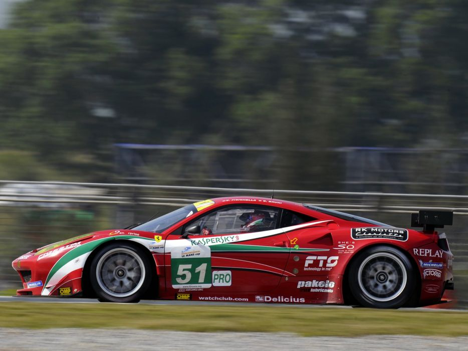 2011 Ferrari 458 Italia GTC supercar race racing wallpaper