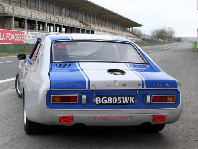 1972 Ford Capri RS2600 Group-2 race racing classic wallpaper