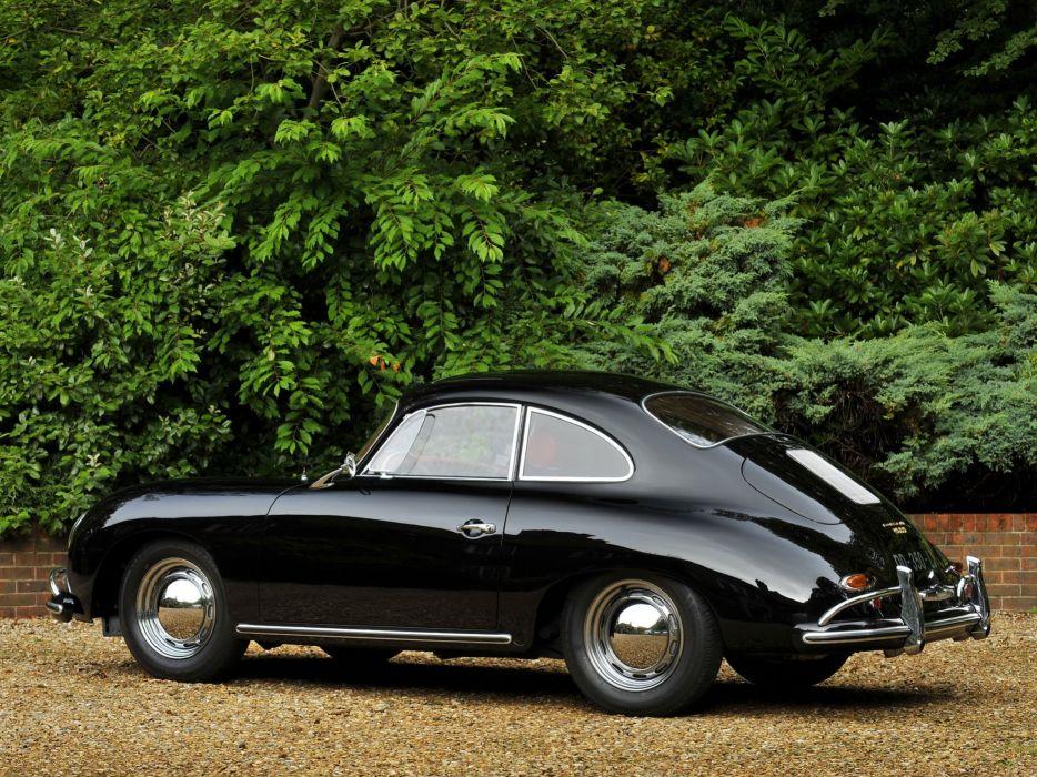 1957-59 Porsche 356A 1600 Super Coupe Reutter T-2 retro wallpaper
