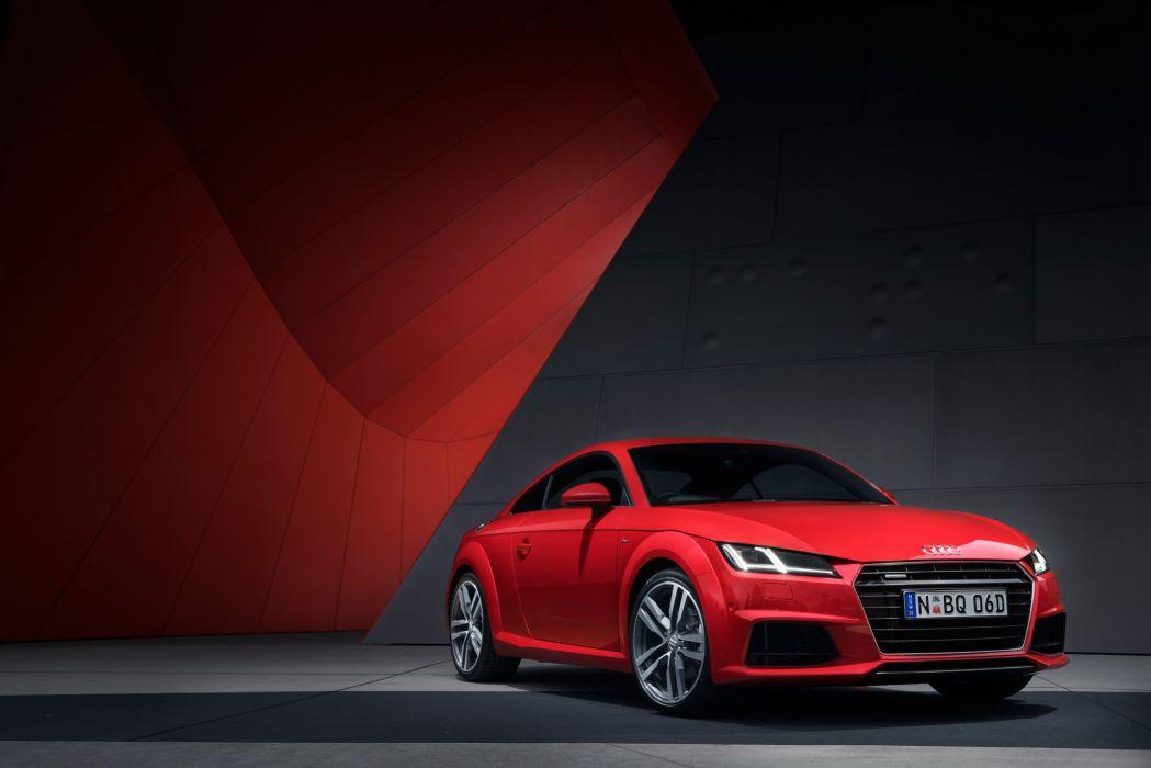 2015 Audi T-T Coupe TFSI quattro S-line AU-spec 8-S wallpaper