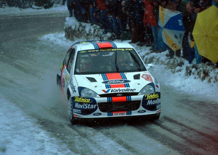 2001 Ford Focus R-S WRC race racing wallpaper