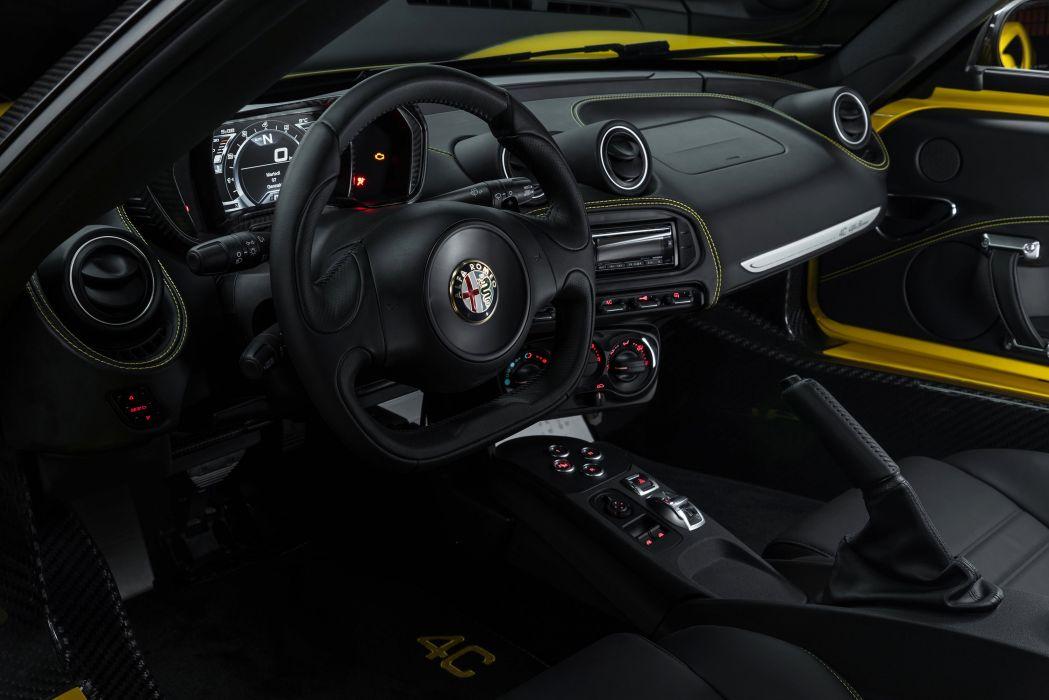 2015 Alfa Romeo 4-C Spider US-spec 960 supercar wallpaper