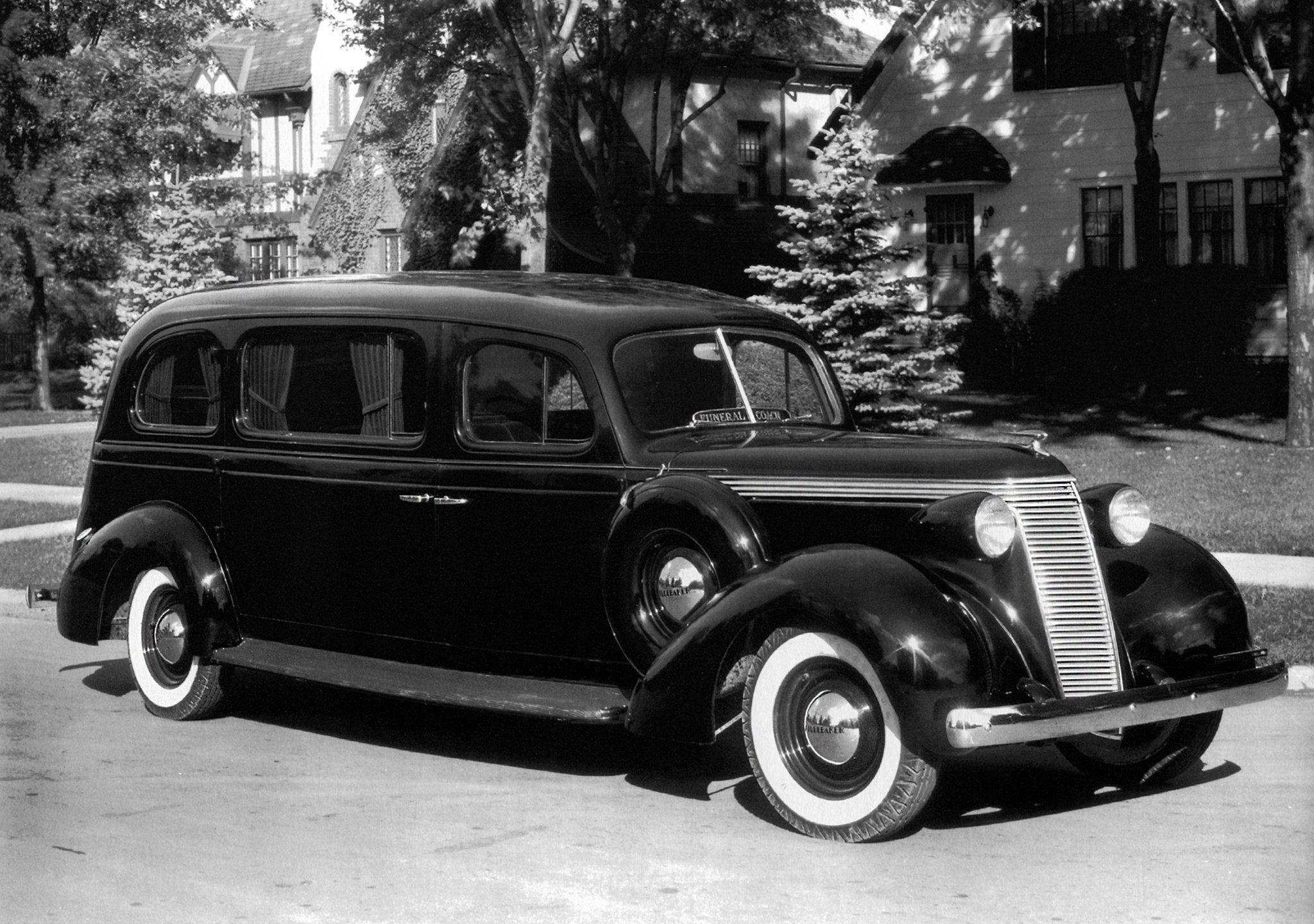 1937 Superior Studebaker Arlington Funeral Car 5a6a