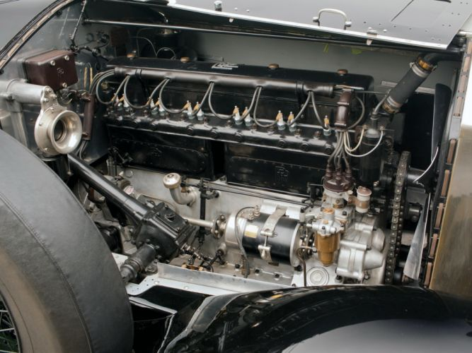 1927 Rolls Royce Phantom-I Brougham-de-Ville Phantom Binder Brougham de Ville luxury retro wallpaper