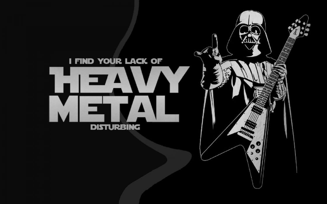 Heavy Metal Darth Vader Wallpaper 1600x1000 588162