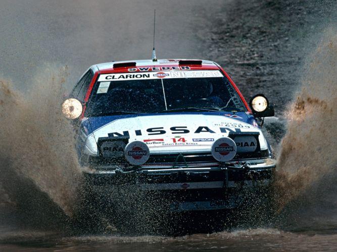 1987 Nissan Silvia 200SX RVS12 wrc race racing rally wallpaper