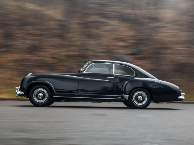 1954 Bentley R-Type Continental Sports Saloon Franay luxury retro wallpaper