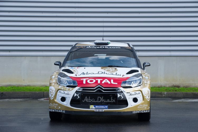 2015 Citroen DS3 WRC rally race racing wallpaper