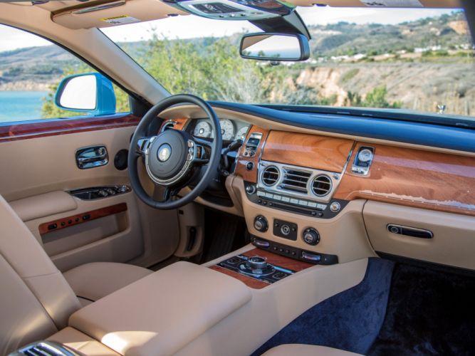 2013 Rolls Royce Ghost Alpine Trial Centenary US-spec luxury wallpaper