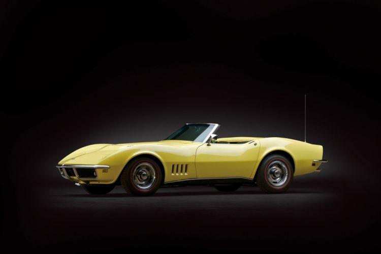 1968 Chevrolet Corvette L68 427 400HP Convertible C-3 muscle supercar classic wallpaper