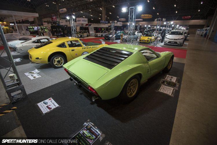 Tonino Lamborghini Miura supercar classic wallpaper