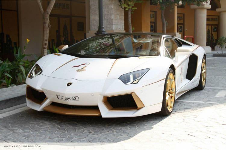 Lamborghini Aventador cars supercars italia gold wallpaper