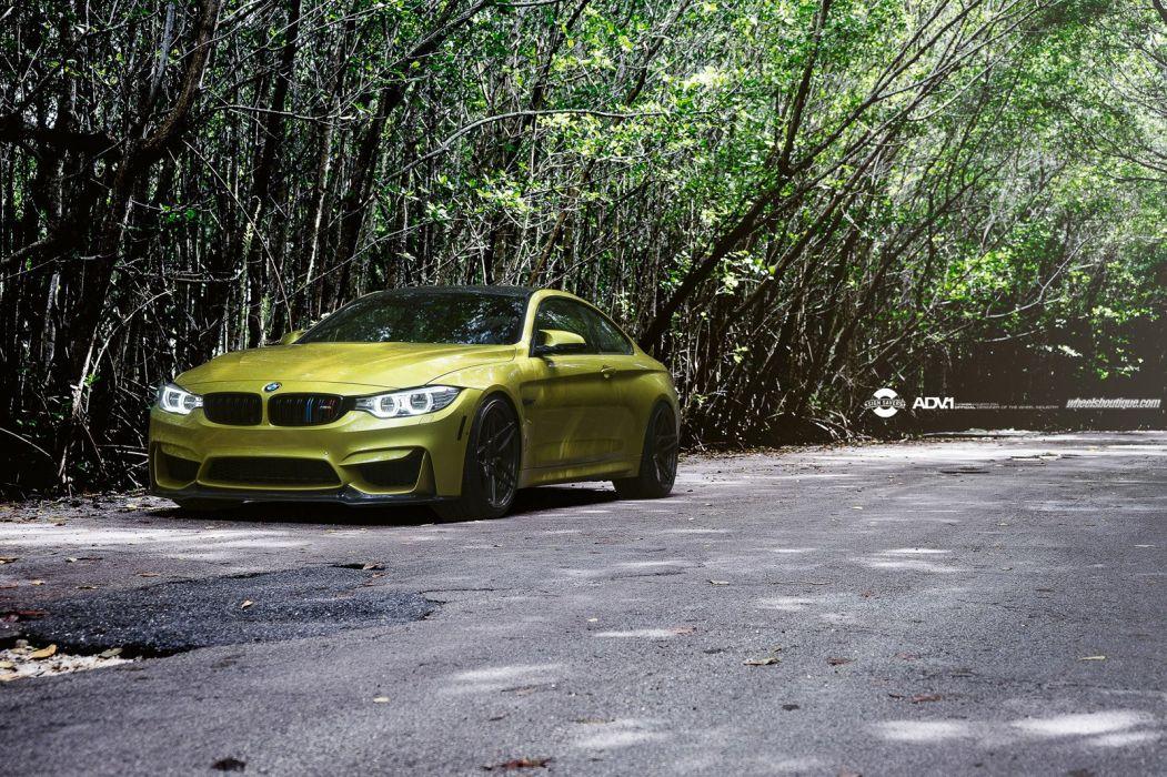 2014 ADV1 Tuning wheels cars BMW M4 wallpaper