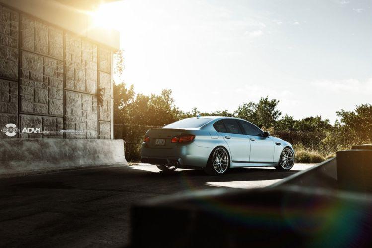 2014 ADV1 Tuning wheels cars BMW F10 M 5 wallpaper