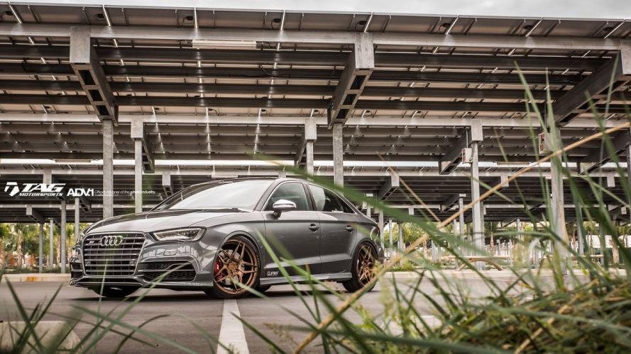 2014 ADV1 Tuning wheels cars AUDI S 3 wallpaper