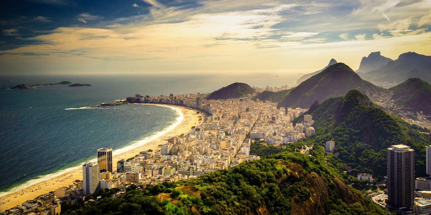 copacabana beach beach brazil brasil rio wallpaper