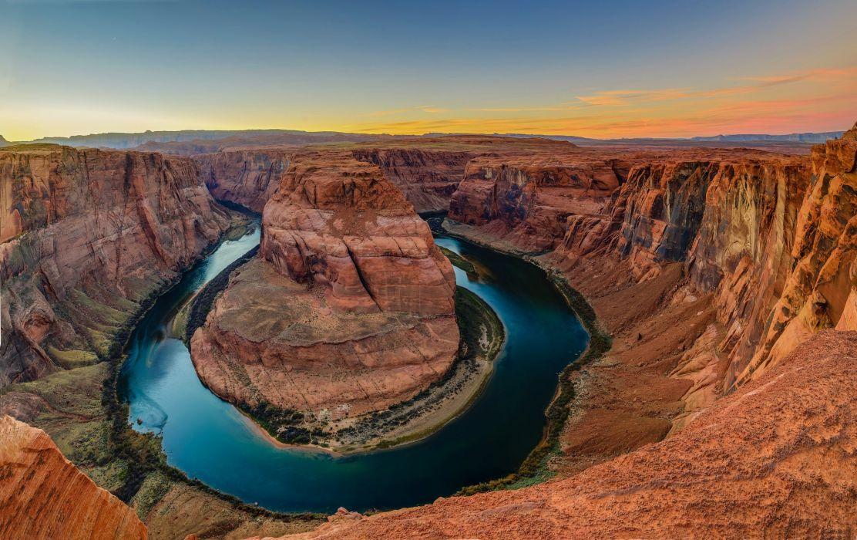 River Colorado Arizona Horseshoe Bend wallpaper