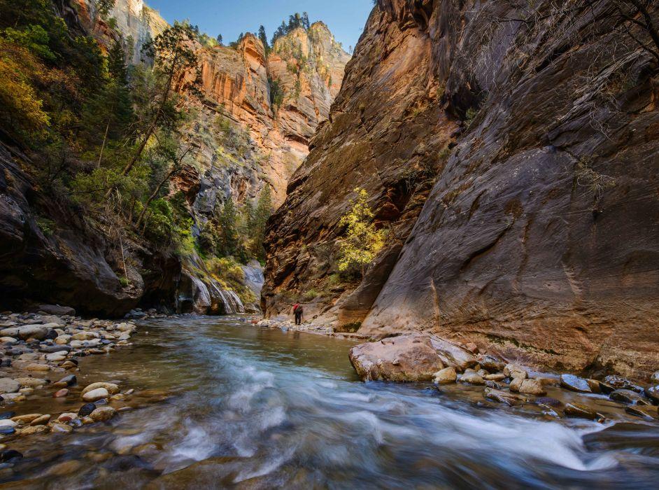 river rocks gorge Nerrous Nerrous Zion Zion National Park r wallpaper