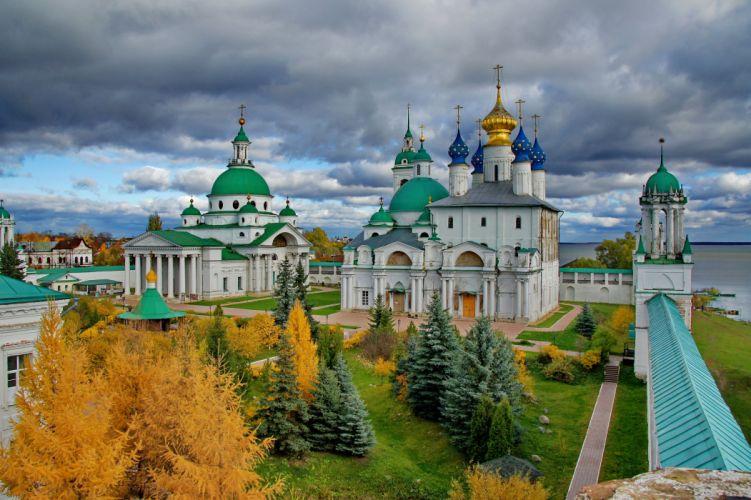 Russia Temple Sky Fir Cities church wallpaper