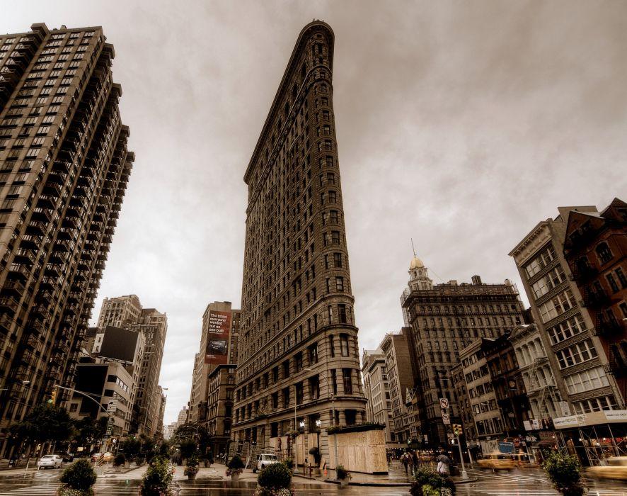 USA Skyscraper New York City Street Cities wallpaper