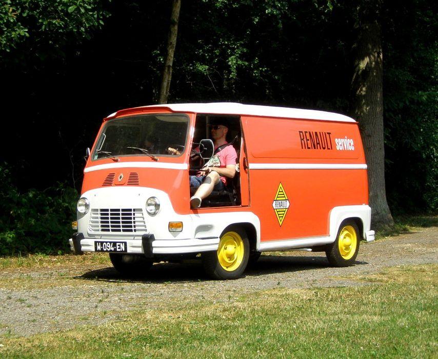 Renault Estafette french classis delivery van wallpaper