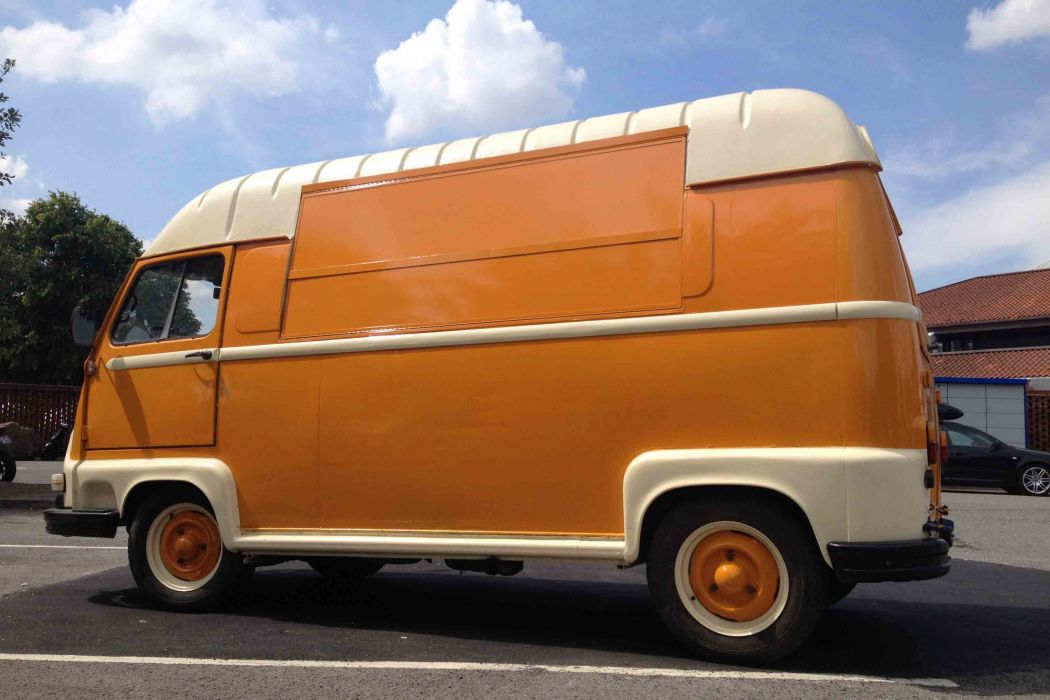 Renault Estafette french classis delivery van cars wallpaper