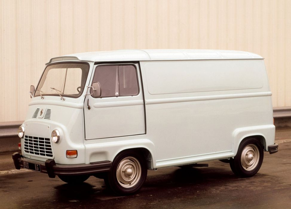 Renault Estafette french classis delivery van cars wallpaper