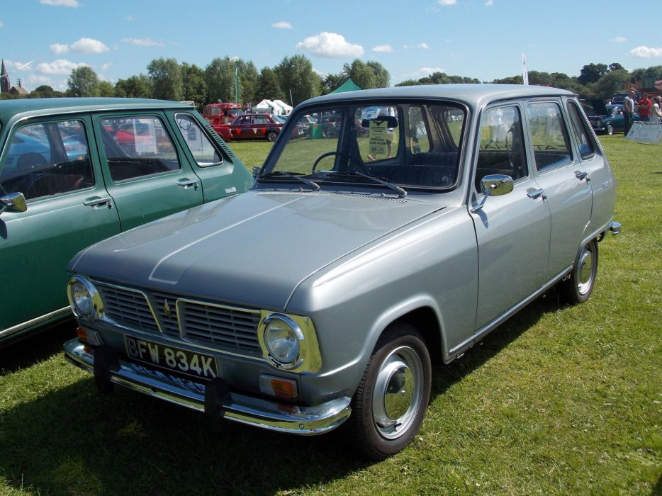 cars classic french renault 6 wallpaper