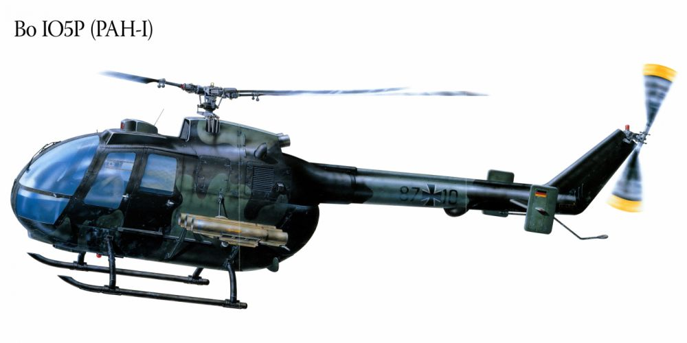 Bo IO5P PAH-I military helicopter aircraft f wallpaper