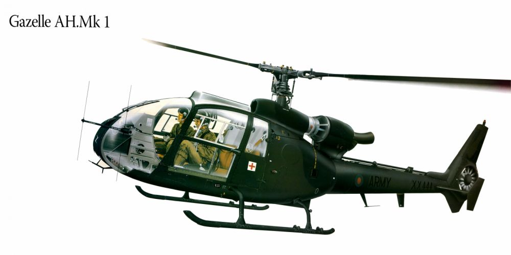 Gazelle AHMk1 military helicopter aircraft f wallpaper