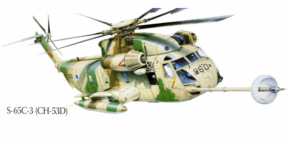 S-65C-3 CH-53D military helicopter aircraft f wallpaper