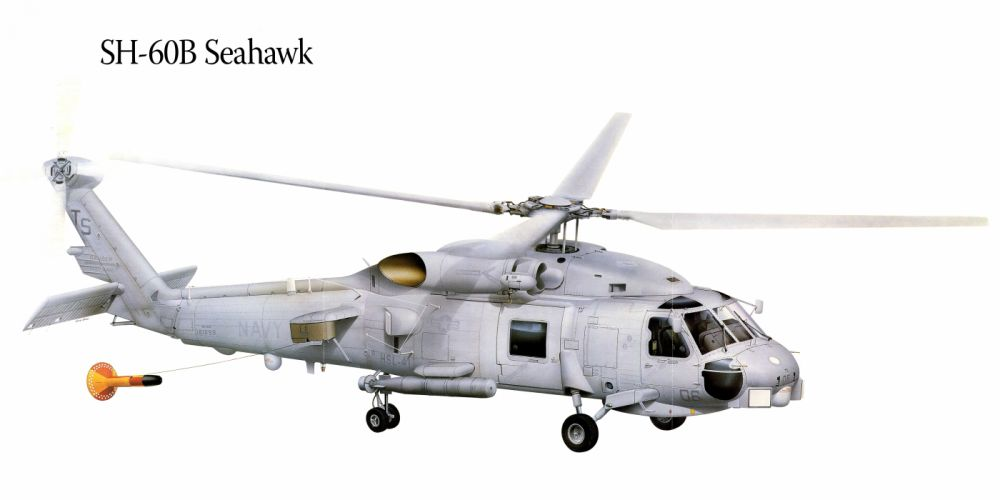 SH-60B Seahawk military helicopter aircraft f wallpaper