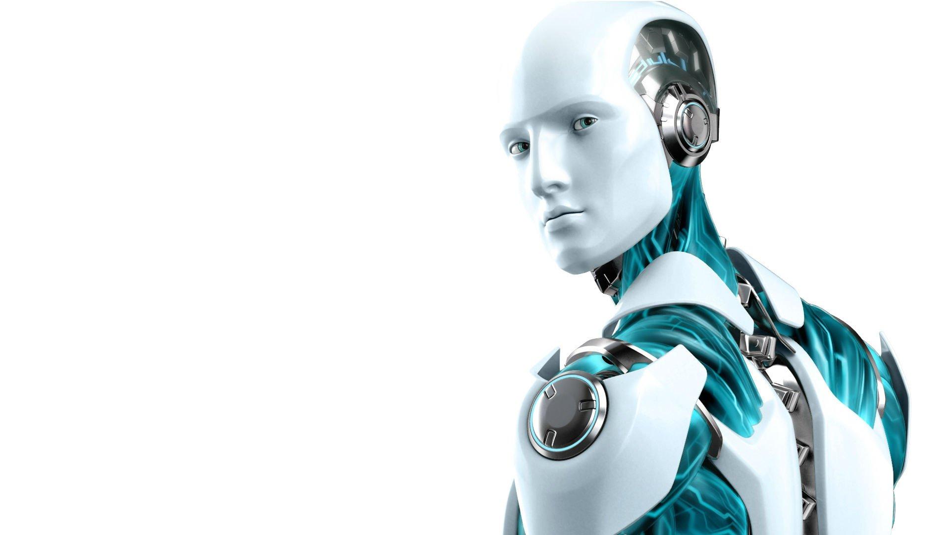 I-ROBOT action mystery sci-fi futuristic robot technics ...