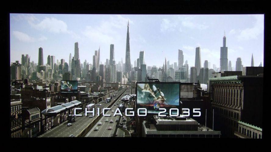 I-ROBOT action mystery sci-fi futuristic robot technics 1irobot crime dystopian city cities chicago wallpaper