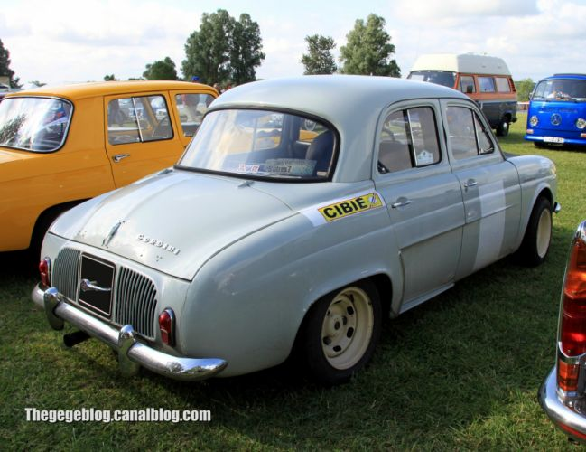 Renault Dauphine Gordini classic cars french wallpaper