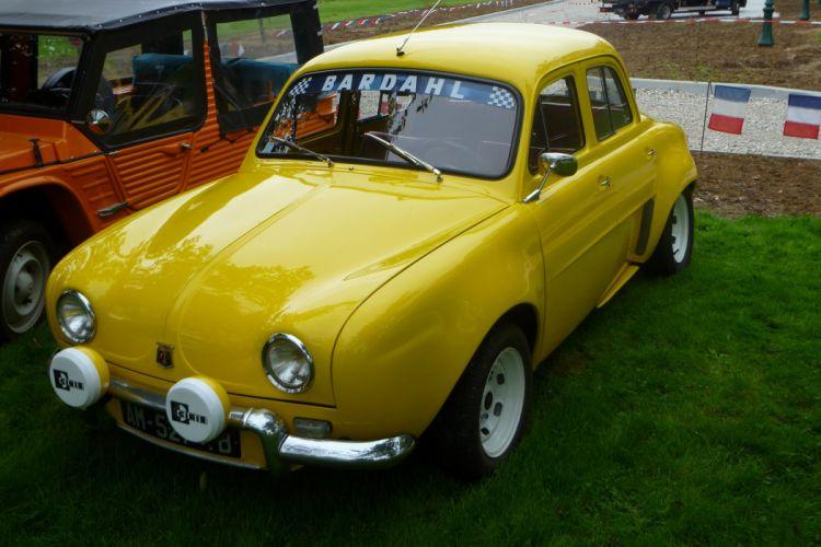 Renault Dauphine Gordini classic cars french wallpaper