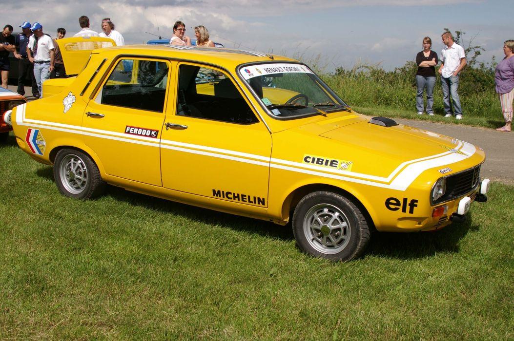 Renault 12 r 12 Gordini classic cars french wallpaper