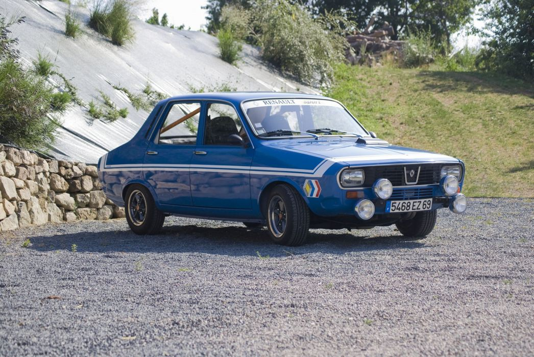 Renault 12 r 12 Gordini classic cars french wallpaper