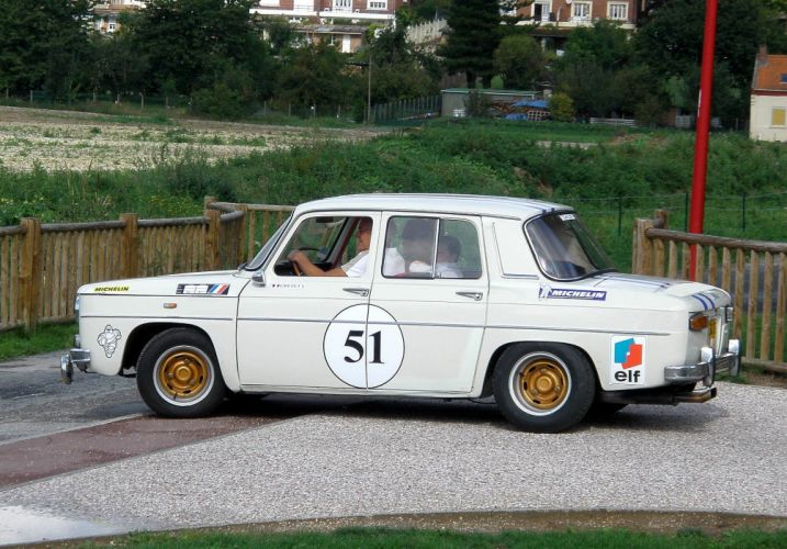 Renault 8 r 8 Gordini classic cars french wallpaper