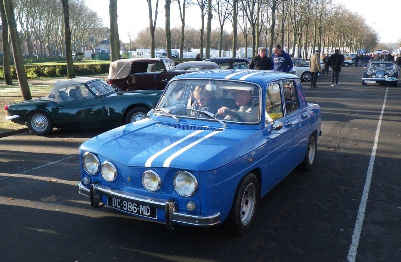 Renault 8 r 8 Gordini classic cars french wallpaper