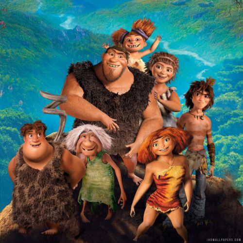 THE CROODS Animation Adventure comedy family fantasy 1croods wallpaper
