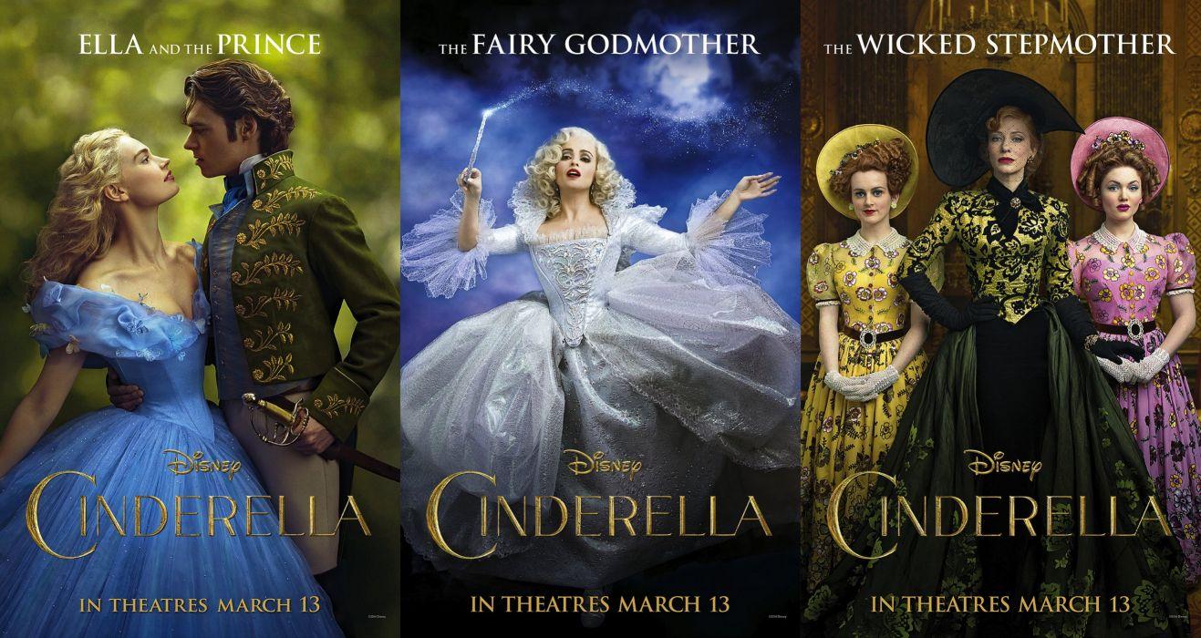 CINDERELLA 2015 adventure drama family romance disney 1cinderella2015 wallpaper