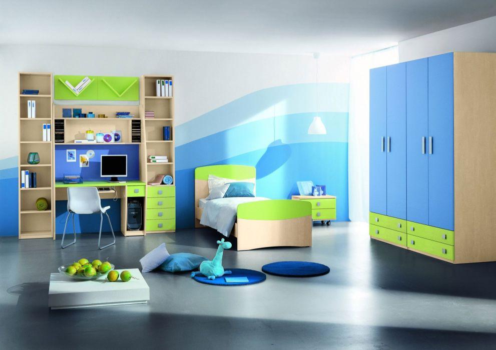 apartment condominium condo interior design room house home furniture wallpaper