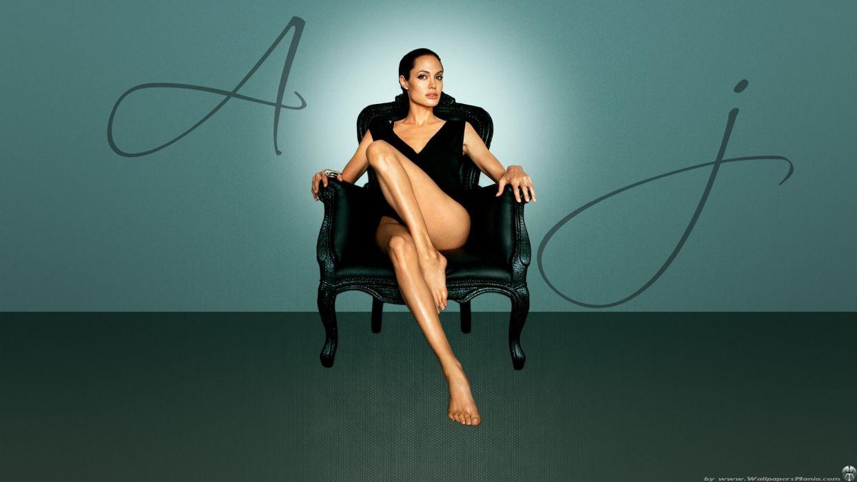 Angelina Jolie Feet wallpaper
