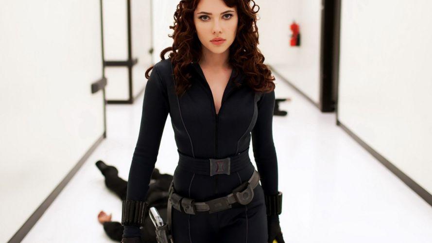 Natasha Romanoff - Iron Man 2 wallpaper