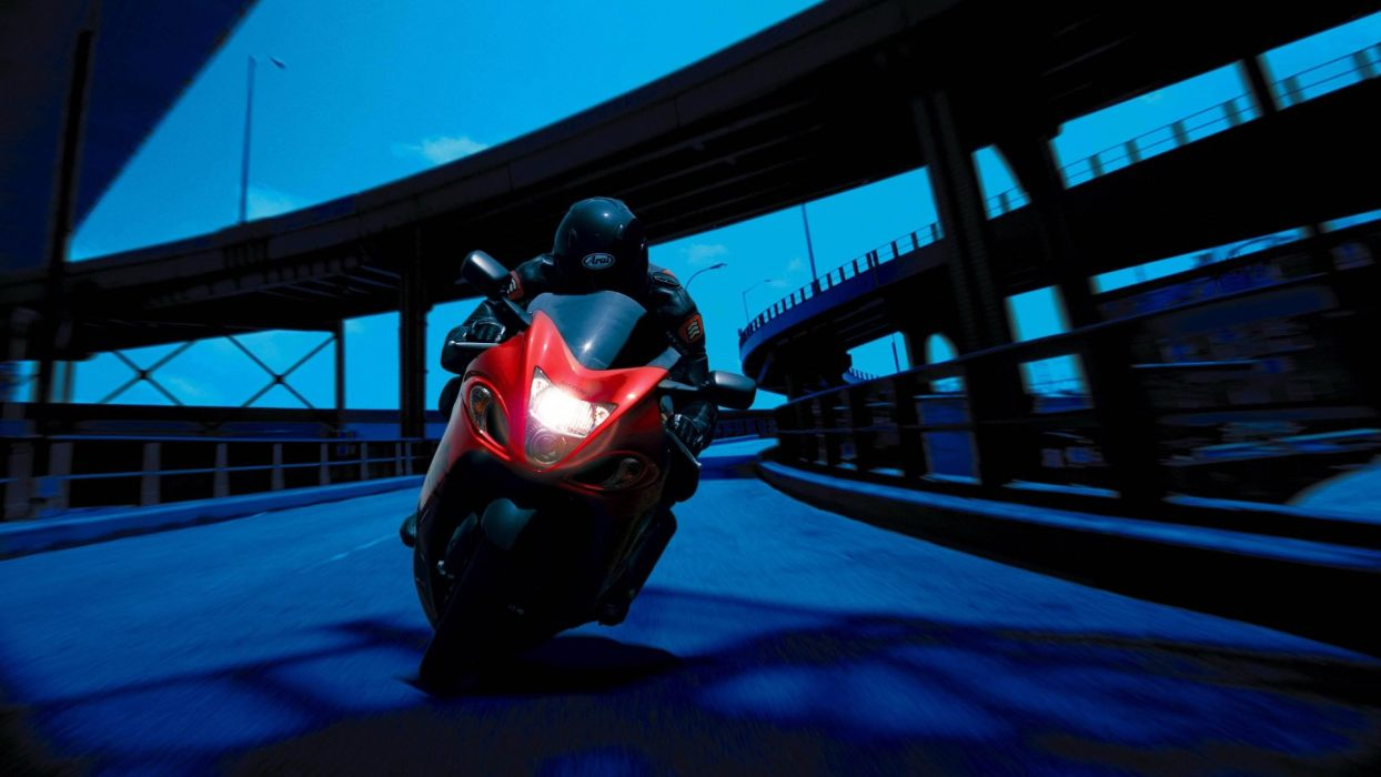 Night Bike Ride wallpaper